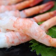 超大号去头甜虾北极虾刺身寿司
